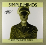 "Simple Minds – Theme for great Cities	12"" maxi single vinyl for RSD	RSD Spc	75 kr"