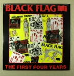 Black Flag - First Four Years / Singles Vinyl LP 175 kr