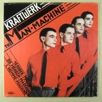 Kraftwerk - Man Machine	Vinyl LP		150 kr